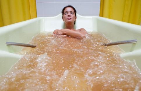 Vonia su mineraliniu vandeniu. Nuotrauka iš www.sanatorija.lt